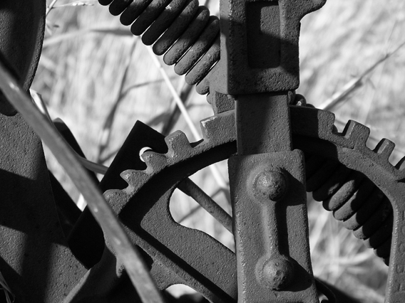 "photo ""old rusty gears"""